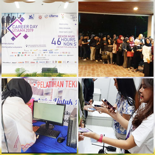 Widyatama Career Days Technology Partner by CyberLabs