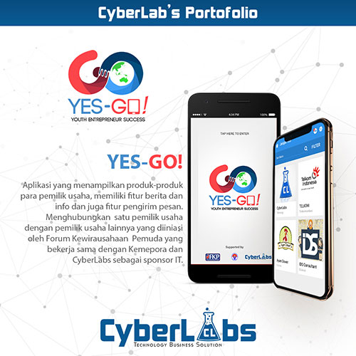 YES GO - PORTFOLIO ANDROID CYBERLABS